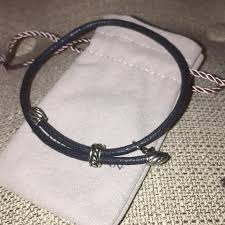 cord rope bracelet images David yurman black cord rope adjustable silver cable accents 925 jpg