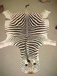 zebra rug cow hide faux skin pelt shaped zebra decorations