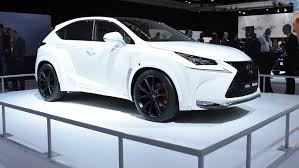 lexus suv white amsterdam the netherlands april 16 2015 white lexus nx by