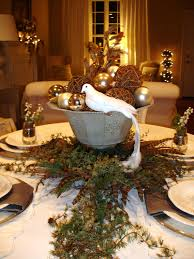 bedroom amazing christmas decorations for tables by green leaves