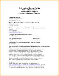 cover letter internship non profit