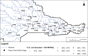 bacteria load estimator spreadsheet tool for modeling spatial u003ci