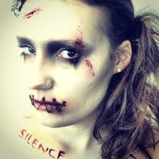 Pinterest Halloween Makeup Ideas by Horror Make Up Work Inspired By Silence Of The Lambs Stitched Lips