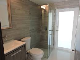 Rain Shower Bathroom by Contemporary 3 4 Bathroom With Rain Shower Head U0026 Flush In North