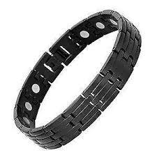bracelet mens ebay images Mens magnetic bracelet ebay JPG