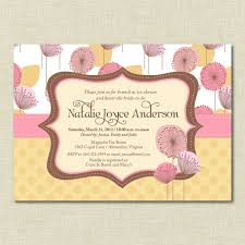 baby shower brunch invitations admirable baby shower brunch or luncheon invitation card with