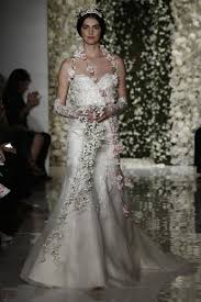 bridal fashion week reem acra fall 2015 wedding dress collection