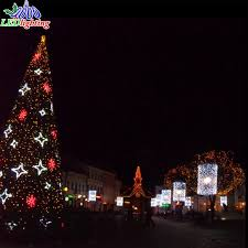 lighted christmas tree christmas tree outdoor commercial lighted christmas tree