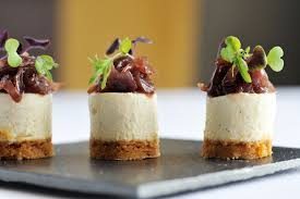 canape recipes goats cheesecake recipe with jam great chefs
