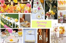 Engagement Party Decorations At Home Spring Fling Bridal Shower Ideas Celebrations At Home