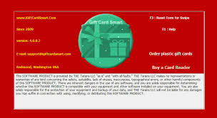 gift card software gift card smart no nonsense gift card for small business