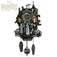 the munsters hand painted cuckoo clock