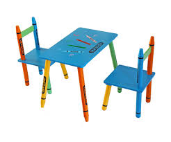 crayola table and chairs wooden table and chairs outdoor childrens chair set for