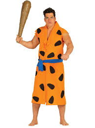 orange caveman costume for adults adults costumes and fancy dress