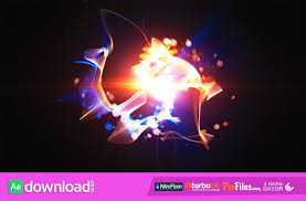 fast particle reveal videohive template free download free