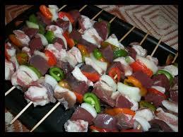 cuisiner coeur de porc brochettes de coeur de porc la santé est au fond de l assiette