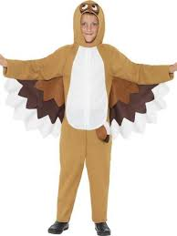 Girls Owl Halloween Costume Owl Kids Fancy Dress Wings Boys Girls Animal Bird
