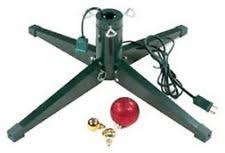 artificial tree 360 rotating stand turning revolving