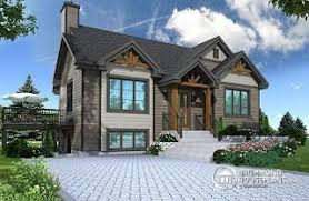 one house plans with walkout basement home plans and house designs with walkout basement from