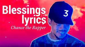 coloring book chance chance the rapper blessings lyrics coloring book