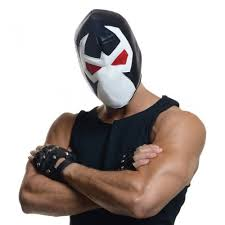 Luchador Halloween Costume Bane Mask Batman Villain Luchador Fancy Dress Halloween