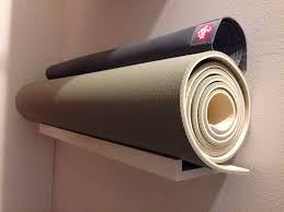 Picture Ledge Ikea I Just Created A New Yoga Mat Storage Spot In My Closet From A