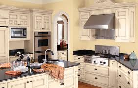 Kitchens With Yellow Cabinets How To Paint Kitchen Cabinets