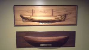 attractive modern wood carving work picture of the port dock