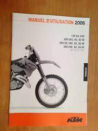 2006 french francais ktm 125 200 250 300 sx exc xc xc w owners