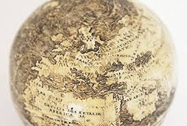 Japan World Map by Globe Made Of Ostrich Eggs May Be Oldest To Show New World The