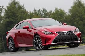 lexus rc 2016 lexus rc 350 f sport one week review automobile magazine