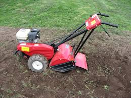 garden rototiller commercial duty hydraulic driven 18