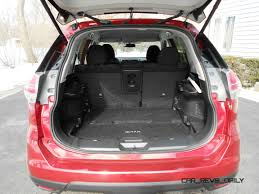 nissan rogue trunk space 2015 nissan rogue review