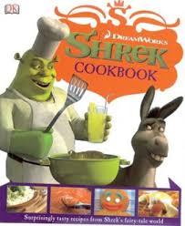shrek cookbook dreamworks book hardback book