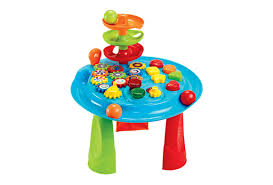 infant activity table toy busy infant gear ball play table