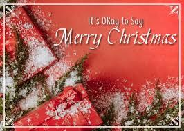 Okay Merry It S Okay To Say Merry Cards Traditional It S Okay
