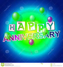 happy anniversary indicates congratulating cheerful and