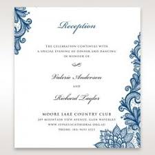 reception card wedding reception cards matching styles