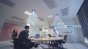 le bureau design led la solution lifi by lucibel l accès à par la lumière