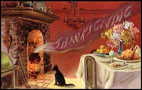vintage thanksgiving dinner card the white cube diaries