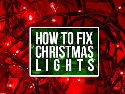 how to fix a christmas lights hometipsandtricks