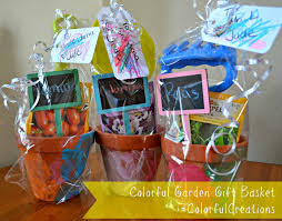 garden gift basket creating a colorful garden gift basket using crayola crayons and