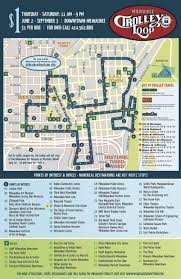 Garden State Plaza Map by Summer Trolley Service Is Back In Downtown Milwaukee Just 1 To