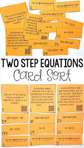 best 25 one step equations ideas on pinterest solving equations