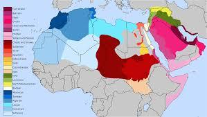 arab map varieties of arabic at map the arab countries creatop me