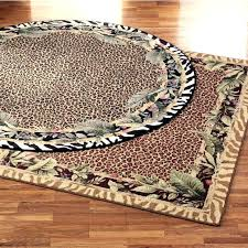 Leopard Print Runner Rug Animal Print Rug Leopard Print Rug Grey And White Animal