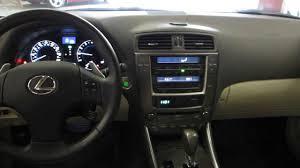 lexus is250 interior trim 2010 lexus is250 pearl white stock 126806 interior youtube