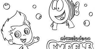 bubble guppies coloring pages gekimoe u2022 67214