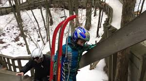 muskegon winter sports complex luge track youtube