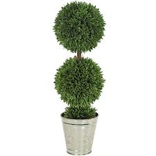 artificial topiary trees outdoor topiary 24 inch potted